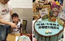 Háo hức mở hộp quà sinh nhật bố tặng, cậu bé khóc thét khi nhận được chiếc bánh kem đính đầy những thứ ám ảnh nhất cuộc đời