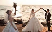 Cận ngày trọng đại, Lê Hà tung trọn bộ ảnh cưới lãng mạn chẳng kém phim Hàn cùng hôn phu điển trai