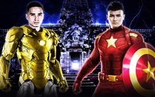 """Fan Trung Quốc hô biến Quang Hải thành """"Captain Việt Nam"""" đấu """"Iron man Thái Lan"""" cực chất"""
