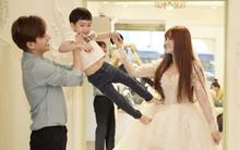 Thu Thủy cùng ông xã kém tuổi khoe khoảnh khắc ngọt ngào trong ngày thử váy cưới trước hôn lễ