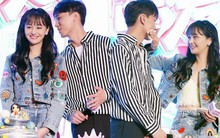 Mặc bạn trai cố tình dàn dựng, lôi kéo Trương Hàn, ánh mắt Trịnh Sảng vẫn đắm đuối si tình khi nhìn người mình yêu
