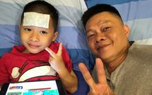 """Ngày đầu vào lớp 1, con trai BTV Quang Minh """"gây chuyện"""" khiến cả bố và cô giáo được phen hốt hoảng"""