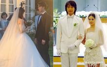 """Rò rỉ ảnh váy cưới trong """"Full House"""" bản Trung Quốc: được khen ăn đứt váy của Song Hye Kyo khi xưa"""