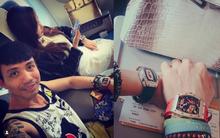 Vợ chồng đại gia Minh Nhựa lần đầu đăng ảnh tình cảm sau bao lùm xùm: Khoe khéo đồng hồ 1 triệu USD không photoshop, xa xa là túi Hermes Birkin gây bao sóng gió!