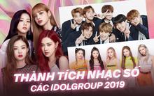 Nhìn lại thành tích nhạc số của các idolgroup năm 2019: Người hâm mộ có đang quá đề cao BTS mà đánh giá thấp những cái tên khác?