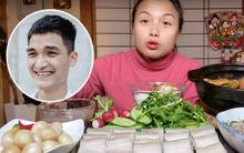 """Quay clip mukbang chấm mọi thứ với mắm tôm, Quỳnh Trần JP không quên """"lăng xê"""" cho quán bún đậu của Mạc Văn Khoa"""