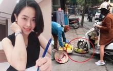 Cô gái điêu đứng, bị dân mạng chửi bới dữ dội vì hiểu nhầm là người phụ nữ chạy xe máy cán nát nia trái cây của người bán hàng rong