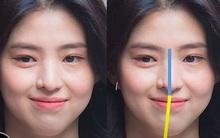 """Soi nhược điểm mặt lệch, mũi ngắn của """"tiểu tam"""" hot nhất xứ Hàn: Lý do cô luôn để một kiểu tóc nhất định là đây"""