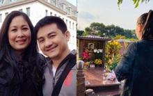 1 năm ngày mất, NSND Hồng Vân một mình đến viếng mộ cố nghệ sĩ Anh Vũ: Người đã ra đi nhưng cái tình còn mãi!