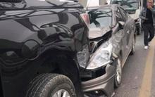Hà Nội: 3 xe ô tô va chạm liên hoàn trên cầu Chương Dương gây ùn tắc kéo dài