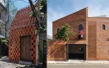 6 ngôi nhà Việt chọn làm mặt tiền toàn gạch đỏ mộc mạc, vào bên trong mới hiểu tác dụng tuyệt vời của điều này