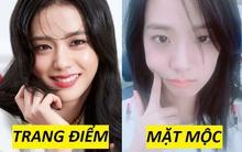 """Ảnh mặt mộc tố nhan sắc dàn mỹ nhân Kpop: Jisoo - Yoona được tôn làm """"thánh"""", gương mặt đẹp nhất thế giới gây tranh cãi nảy lửa"""