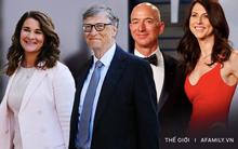 """Đặt lên bàn cân cuộc ly hôn của 2 tỷ phú giàu nhất thế giới: Giống nhau đến ngỡ ngàng, đặc biệt là lý giải cho """"gu"""" người tình quá """"mặn"""""""