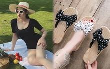 Á hậu Tú Anh mách chị em sắm đồ hè ngon rẻ: Hay nhất là bộ đồ bơi 168k có thể tận dụng làm áo cực sexy
