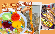 """Loạt đồ ăn vặt từng khiến giới trẻ Sài Gòn """"chao đảo"""" vì quá độc lạ, có món còn gây tranh cãi vì không ngon như lời đồn?"""