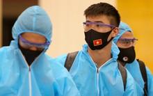 Bộ Y tế đồng ý đề xuất thời gian cách ly 7 ngày đối với các thành viên ĐTQG Việt Nam