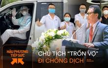 """Bác chủ tịch trốn vợ đi vào tâm dịch Bắc Giang làm tài xế tình nguyện: """"Các con ở nhà động viên mẹ thay bố nhé!"""""""