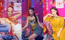 """Tú Hảo, Hòa Minzy, Khánh Linh, Amee và dàn sao Sài thành nô nức check-in """"Căn phòng hồng"""" tại cửa hàng Hermès"""