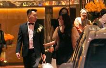 Sau đám cưới, Diệp Lâm Anh thay trang phục giản dị, lên xe 7 tỷ đồng về thẳng nhà chồng