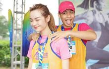 Quốc Anh đấm bóp tình cảm cho MLee, cùng Minh Hằng, Liên Bỉnh Phát... tham gia show Marathon