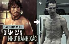 Khi sao Hollywood giảm cân vì vai diễn: Nam hay nữ đều khổ như nhau, húp lòng trắng trứng sống qua ngày