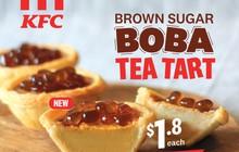 Bánh tart trứng huyền thoại của KFC đã trở lại, lợi hại gấp đôi với nhân… trân châu đường đen?