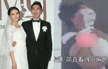 Con gái Cao Viên Viên lần đầu lộ diện khi cùng mẹ tới phim trường thăm bố Triệu Hựu Đình, khuôn mặt bụ bẫm cực kỳ đáng yêu