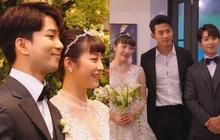 Hôn lễ cặp đôi cưới sau 700 ngày yêu: Lung linh, cô dâu lộng lẫy, Taecyeon (2PM) cùng dàn nam thần MBLAQ đến chung vui