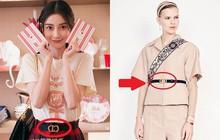 Đường đường là đại sứ Dior mà Angela Baby lại đeo ngược thắt lưng đến chính sự kiện của hãng, phải chăng đây là trào lưu mới?