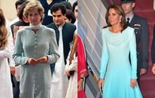 Kate Middleton gợi nhớ đến Công nương Diana khi diện mẫu đầm truyền thống của Pakistan