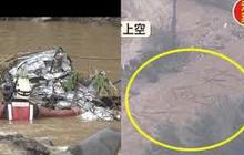 Gia đình 4 người ở Nhật tử vong trong xe hơi vì siêu bão Hagibis, người dân viết chữ cầu cứu nước và lương thực tại vùng bị cô lập