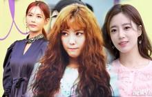 Hyomin tái hiện lại kiểu tóc trứ danh của Sulli, hội ngộ Eun Jung, Qri tại Seoul Fashion Week