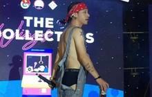 Mr.A bị chỉ trích vì để lộ hết nội y, đổ tung toé bia trên sân khấu khi diễn cho sinh viên