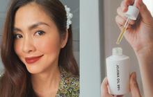 Làn da của bạn sẽ biến chuyển thần kỳ thế nào nếu bắt chước Hà Tăng thêm dầu dưỡng da vào quy trình skincare?