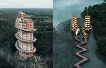 Nhìn loạt ảnh đẹp lộng lẫy của những ngôi đền châu Á này, dân mạng phải tự hỏi: Có thật ngoài đời ư?