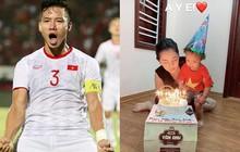 Ghi bàn thắng đầy thuyết phục trong trận đấu với Indonesia, Quế Ngọc Hải không quên nhắn gửi lời yêu cực ngọt tới vợ nhân dịp sinh nhật
