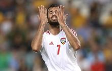 """""""Họng pháo"""" của UAE bị treo giò, tuyển Việt Nam hưởng lợi trước cuộc đối đầu trên sân Mỹ Đình"""