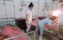 Nghệ An: Bị sét đánh trên đường đi học về, 5 học sinh nhập viện
