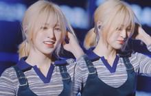 Wendy (Red Velvet) từng nhiều lần nhuộm tóc bạch kim nhưng tới lần này mới thực sự đẹp nức nở