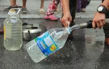 Sau quá trình thau rửa bể chứa, công ty nước sạch sông Đà đã cấp nước trở lại cho hàng vạn hộ dân