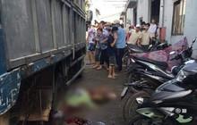 Bình Dương: Nữ tạp vụ đang quét dọn trong công ty bị xe tải lùi cán tử vong, người thân gào khóc tại hiện trường