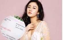 Sau nghi vấn có bạn trai mới, Văn Mai Hương bất ngờ đăng giấy đăng ký kết hôn