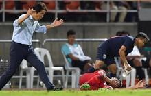 """HLV tuyển Thái Lan chỉ trích thậm tệ Bùi Tiến Dũng: """"Không nên để kiểu cầu thủ này xuất hiện trong đội"""""""