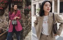 """Ngắm street style của 10 sao Việt nổi tiếng mặc đẹp, bạn sẽ rút ra được bí kíp mặc blazer mùa lạnh thật """"chất"""""""