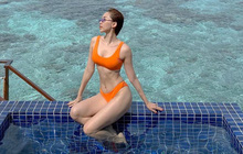 Trái ngược ảnh bị dìm, Tóc Tiên tung loạt khoảnh khắc khoe body cực gợi cảm trong kỳ nghỉ ở Maldives