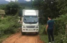 Bất thường đường đi của xe ô tô chở dầu thải đổ xuống nguồn nước sông Đà