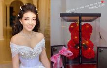 """""""Cô dâu 200 cây vàng"""" ở Nam Định khoe quà khủng 20/10, nhưng để ý mới thấy đang bật mí tin mừng có em bé"""