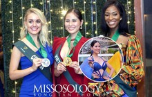 Biến hoá độc đáo, Hoàng Hạnh mang về huy chương vàng phần thi bikini tại Hoa hậu Trái đất