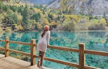 Khó tin nhưng có thật hồ nước xanh trong vắt đẹp hệt tranh vẽ ở Trung Quốc, chẳng cần chỉnh màu vẫn hút hồn dân mạng