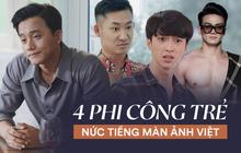 4 phi công trẻ nức tiếng màn ảnh Việt: Số 1 lăm le thả thính cô San (Hoa Hồng Trên Ngực Trái) đây này!